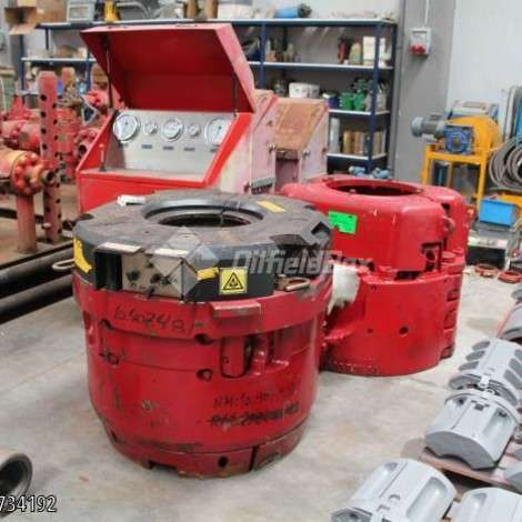 Used National Oilwell Varco (NOV) NOV PS21 POWER SLIP year of 2010 for sale, price ask the owner, at TurkPrinting in Slips