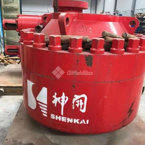 Used SHENKAI ANNULAR BOP, 13 5/8 5000 PSI year of 2019 for sale, price ask the owner, at TurkPrinting in BOPs