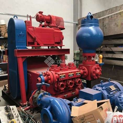 Used LEWCO TRIPLEX PISTON PUMP, W-446 SUPERFORCE, LEWCO year of 2019 for sale, price ask the owner, at TurkPrinting in Mud Pumps