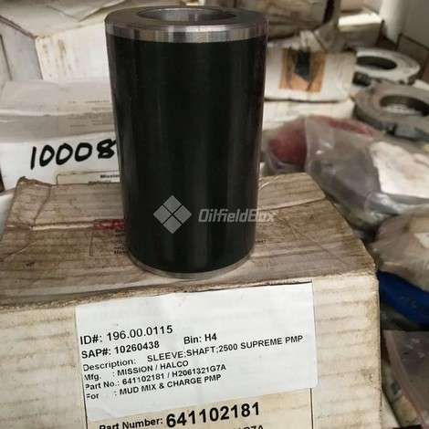 Used National Oilwell Varco (NOV) SLEEVE, SHAFT; 2500 SUPREME PUMP year of 0 for sale, price ask the owner, at TurkPrinting in Centrifugal Pumps