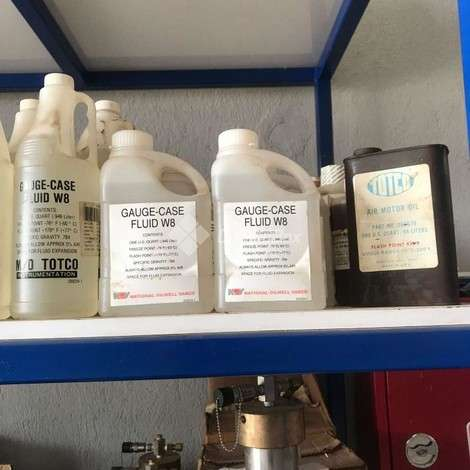 Used National Oilwell Varco (NOV) FLUID W8, GAUGE-CASE year of 2019 for sale, price ask the owner, at TurkPrinting in Oils