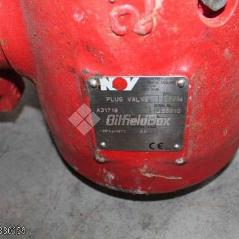 Used National Oilwell Varco (NOV) PLUG VALVE 3'' 10.000 PSI year of 0 for sale, price ask the owner, at TurkPrinting in Plug Valve