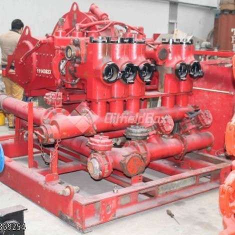 Used Halliburton CEMENTING PUMP, HT400, QUADRIPLEX TYPE year of 0 for sale, price ask the owner, at TurkPrinting in Centrifugal Pumps