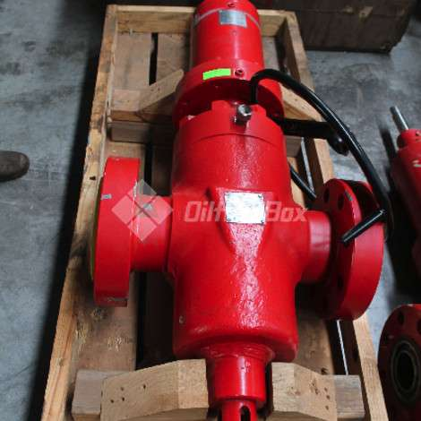 Used National Oilwell Varco (NOV) GATE VALVE, 4 1/16 5000 PSI FLANGED, T3 ENERGY HPT year of 2019 for sale, price ask the owner, at TurkPrinting in Gate Valve